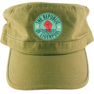 Green Republic of Liverpool hat with green logo
